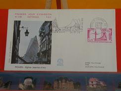 Coté 2€ - Église Jeanne D'Arc - 24.5.1979 - 76 Rouen - FDC 1er Jour & Flamme - FDC