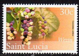 St. Lucia 2010 30c Definitive, Wmk. New Multiple Crowns, 2010 Imprint, MNH (SG 1383) - St.Lucia (1979-...)
