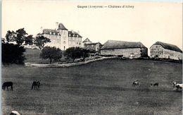 12 - GAGES --  Château D'Alboy - Francia