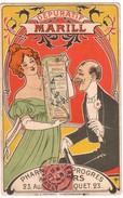 BEZIERS - Pharmacie Du Progrès - 23 Avenue Paul Riquet ( Dépuratif Marill  Illustration De Mich ?...) - Beziers
