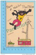 Joliette Quebec Canada - QSL  - Base Et Mobiles Panthère -  Carte Postale -2 Scans - CB