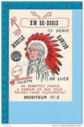 """Joliette Quebec -  """" Kawish """" Theme Amérindien Carte Postale Post Card - 2 Scans - Non Classés"""