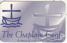 USA - The Chaplain Card, Chaplain Telecom By Global Link Teleco Global Recharge Card, Used - Sonstige
