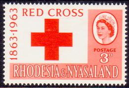 RHODESIA & NYASALAND 1963 SG #43 3d MH Red Cross - Rhodesia & Nyasaland (1954-1963)