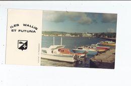 ILES WALLIS ET FUTUNA CARTE PHOTO DU WHARF DE MATA URU - Wallis Et Futuna