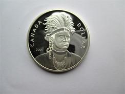 Canada, 1 Dollar, 2007 Thayendanegea. - Canada