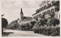 AK Franzensbad Frantiskovy Lazne Hotel Kreuz Katholische Kirche A Eger Cheb Trebendorf Treben Triesenhof Oed Egerland - Sudeten