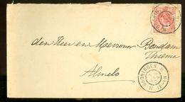 BRIEFOMSLAG Uit 1904 Gelopen Van GRONINGEN Naar ALMELO   (10.640a) - Periode 1891-1948 (Wilhelmina)