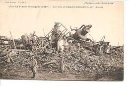 La France Reconquise - Sucrerie De GRAND-SERAUCOURT - Otros Municipios