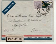 Lettre Du Bresil Par Avion Pour La France 1933. - Brésil