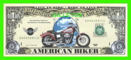 BILLETS - ONE MILLION  DOLLARS, THE UNITED STATES OF AMERICA - AMERICAN BIKER - SERIES 2002 - - Etats-Unis