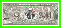 BILLETS - 00 DOLLARS, THE UNITED STATES OF AMERICA - GOD BLESS OUR VETERANS OF WAR - - Non Classés
