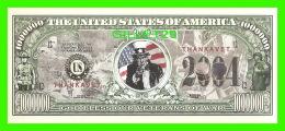 BILLETS - 00 DOLLARS, THE UNITED STATES OF AMERICA - GOD BLESS OUR VETERANS OF WAR - - Etats-Unis