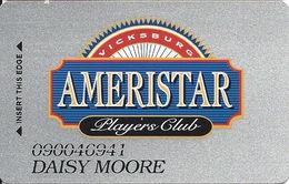 Ameristar Casino Vicksburg, MS - Slot Card - Casino Cards