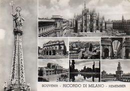 Souvenir - RICORDO DI MILANO - Remember - Vedute - Milano