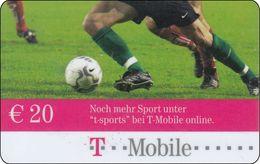 Österreich  Phonecard  Noch Mehr Sport Fußball - Oesterreich