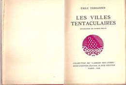 LES VILLES TENTACULAIRES - EMILE VERHAEREN - Poésie