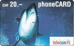 Lichtenstein  Phonecard  Fish Fisch - Liechtenstein