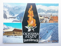 Postcard Olympia Stadt Innsbruck Winter Olympics 1976 ? Olympic Games Interest My Ref B21523 - Olympic Games