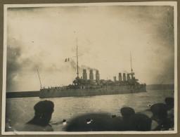 Bateau De Guerre. Années 30. - Barche