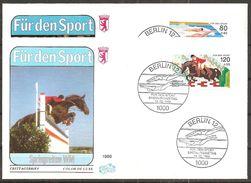 Berlin 1986 // Mi. 751/752 FDC (k5/37) - FDC: Covers