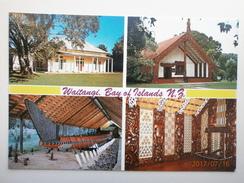 Postcard Waitangi Bay Of Islands New Zealand Maori Interest My Ref B21526 - New Zealand