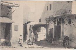 Maroc - Tanger - Lot De 2 CPA  - Architecture  Rue De La Casbah + Rue Arabe . Voir 2 SCANS - Tanger