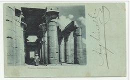 THEBES RAMESSEUM COLONNES VIAGGIATA FP - Egypt