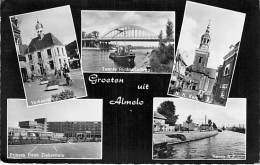 NEDERLAND ( Overijssel ) ALMELO  : Groeten Uit ... - CPSM PF -  Pays Bas Holland Netherlands - Almelo