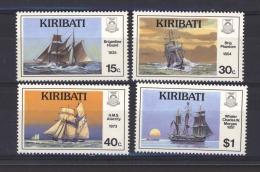 Kiribati  :  Yv  191-94  **     Bateau - Boat - Kiribati (1979-...)