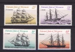 Micronesie   :  Yv  26  + Av  7-9  **     Bateau - Boat - Micronésie