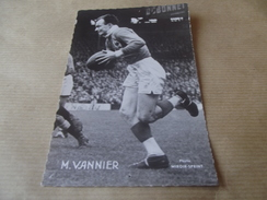 Cp M Vannier - Rugby
