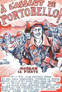 """CPSM ILLUSTRATEUR JEAN KALISTRATE """" A L'assaut De Portobello"""" - Illustrateurs & Photographes"""
