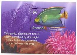GRENADA   2966  MINT NEVER HINGED SOUVENIR SHEET OF FISH-MARINE LIFE  #   303-4  ( - Fische