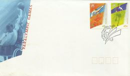 Australia 2000 Paraolympic Games FDC - Ersttagsbelege (FDC)