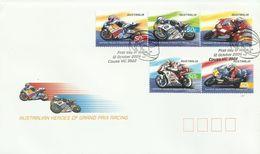 Australia 2004 Heroes Of Gran Prix FDC - FDC