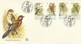South Africa Bophuthatswana 1980  Birds FDC - Covers & Documents