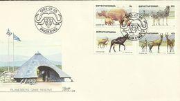 South Africa Bophuthatswana 1983 Wild Animals FDC - Bophuthatswana