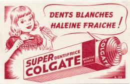 AC - B2673- Dentifrice Super Colgate ( Non Utilisé) - Buvards, Protège-cahiers Illustrés