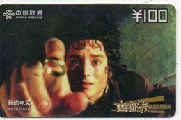 Seigneur  Des Anneaux Film Movie Cinéma  Seigneurs Télécarte Phonecard (S.332) - Chine