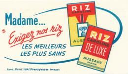 AC - B2674 Et B22676 -  Riz Caroline  - Aussage Pantin ( Non Utilisé) - Buvards, Protège-cahiers Illustrés