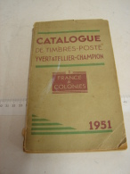 Liv. 129. Ancien Catalogue Yvert & Tellier. 1951 - France