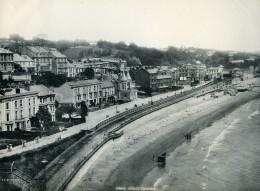 Royaume Uni Dawlish Bords De Mer Plage Ancienne Phototypie Frith 1900 - Photographs