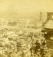 France Paris Panorama Ancienne Stereo Photo 1870 - Stereo-Photographie