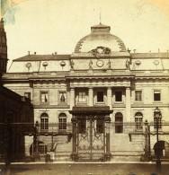 France Paris Palais De Justice Ancienne Stereo Photo 1858 - Stereoscopic