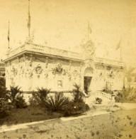 France Paris Expo Universelle Société Des Pastellistes Ancienne Stereo Photo LL 1889 - Stereoscopic