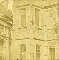 France Voyage En Normandie Rouen? Ancienne Stereo Photo 1860 - Stereoscoop