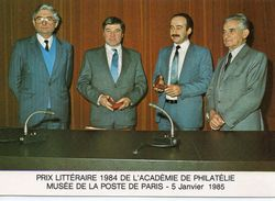 Philathélie Prix Littéraire Académie De Philatélie Musée De La Poste De Paris - Stamps (pictures)