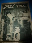 1917 J'AI VU: Sur Le Pont;Hippisme;Les Mascottes;Fogg London;En SUISSE; Camp Des 100000 Mulets;Bezonvaux;Dirigeable;etc - Magazines & Papers