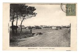 50 MANCHE - COUTAINVILLE Vue D'ensemble (côté Sud) - France